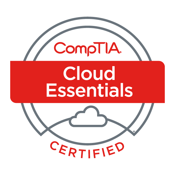 CompTIA Cloud Essentials badge