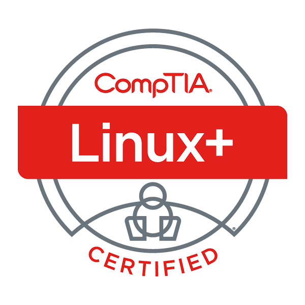 CompTIA Linux+ badge